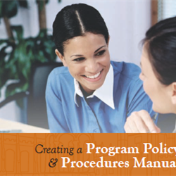 Creating a Policy and Procedures Manual-July 2020